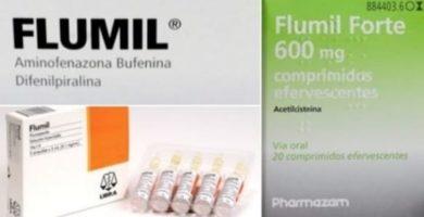 se puede mezclar flumil forte con espidifren ibuprofeno