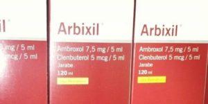 el uso del arbixil sirve para la tos seca
